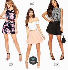 WHAT TO WEAR WITH A SKATER SKIRT