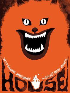 Japanese Movie Poster: House. Sam Smith. 2011 | Gurafiku: Japanese Graphic Design