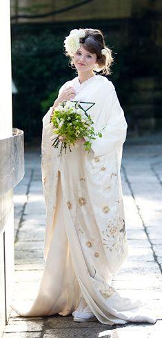 Kimono Japan, Japanese Kimono, Wedding Kimono, Wedding Dresses, Japanese Costume, Japanese Wedding, European Wedding, Yukata, Japan Fashion