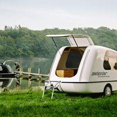 Sealander - Amphibious Camper - Part Camper, Part Boat, All awesome.