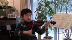 Go Tell Aunt Rhody (Suzuki Violin 1-4); 鈴木メソード バイオリン教本一巻の4曲目「むすんでひらいて」—See more of this young violinist #from_HaruyasViolin