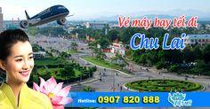 Vé máy bay tết 2017 đi Chu Lai - Nhận đặt vé máy bay tết 2017 giá rẻ tại TPHCM