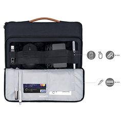 tomtoc 360 Protective Laptop Carrying Case for Inch Surface Pro New MacBook Air with Retina Display MacBook Pro USB-C Accessory Bag Surface Pro 4 Accessories, Computer Accessories, New Macbook Air, Macbook Pro, Laptop Carrying Case, Computer Supplies, Microsoft Surface Pro 4, Retina Display, Briefcase