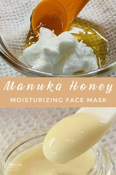 Manuka honey moisturizing face mask has powerful anti-inflammatory properties. It is excellent for women with skin issues like acne, eczema, psoriasis, and also small wounds. This all-natural DIY face mask recipe is easy and affordable. #skincareroutine #skincaretips #manuka #manukahoney #honeymask #facemask #skin