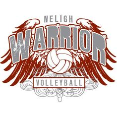 neligh warrior volleyball volleyball team shirtssport designwarriors