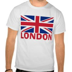 London in Red T Shirts