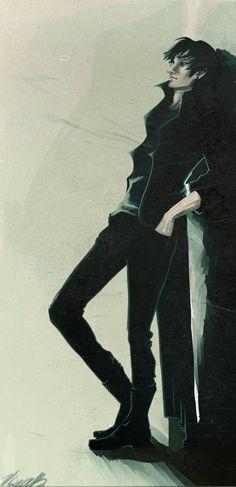 such a dark person by *viria13 on deviantART Nico di Angelo