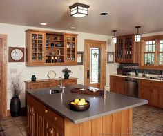 Arts And Crafts Style Kitchen From Design Ideas Org Crown