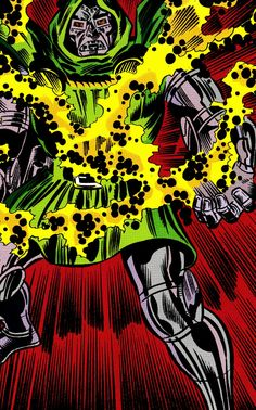 Doctor Doom in Fantastic Four #330 (Sept. 1989) - Rich Buckler & Joe Sinnott