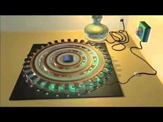 """Magnetic Current Stirs """"Electrons"""" - John Searl's SEG (Research the info in the Description)"""