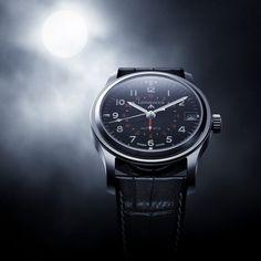 The Longines Avigation - Broad Arrow military watch