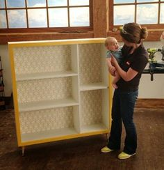 Ana White | Build a Mid Century Modern Bookshelf for Ryobi Nation | Free and Easy DIY Project and Furniture Plans DIy Furniture plans build your own furniture #diy
