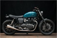 TRIUMPH THRUXTON 900 | BY WRENCHMONKEES - http://www.gadgets-magazine.com/triumph-thruxton-900-wrenchmonkees/