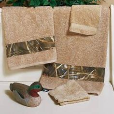Real Tree Max 4 Camo Hand Towel by Real Tree Bedding: The Home Decorating Company