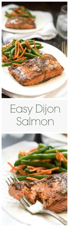 (Use 1 1/2 lb. salmon, and sub tamari for soy sauce) 6 simple ingredients, and…