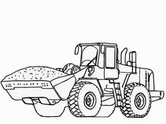 free tractor coloring pages printable | transportation coloring ... - John Deere Tractor Coloring Pages