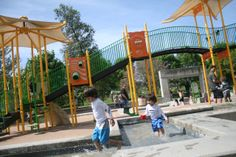 Water fun...San-Ramon-Central-Park-Play