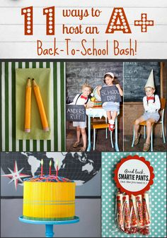 11 Ways to Host an A+ Back-to-School Bash