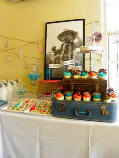 Super cute little man/mustache shower/party