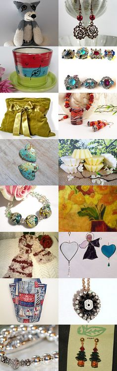 Christmas in July Promotion...wrapping it up by NANCY ANDERSON on Etsy--Pinned with TreasuryPin.com #Etsyvintage #Estyhandmade #cij