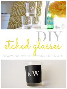 DIY Etched Glass Ti