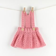 Beau Crochet, Crochet Mignon, Crochet Baby Blanket Beginner, Baby Girl Crochet, Crochet Baby Clothes, Single Crochet, Crochet Baby Outfits, Baby Skirt, Baby Dress