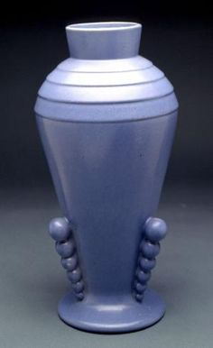 Art Deco vase designed by George Rumrill, ca. 1930.