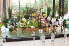 Easter decoration, easter tablescape, mesas de Páscoa com coelhos | Anfitriã como receber em casa, receber, decoração, festas, decoração de sala, mesas decoradas, enxoval, nosso filhos