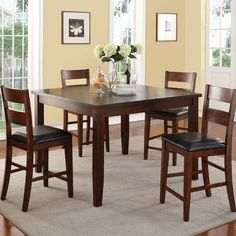 Legends Furniture Rockport 5 Piece Dining Set