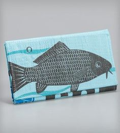 Upcycled Clutch Wallet by TORRAIN on Scoutmob Shoppe