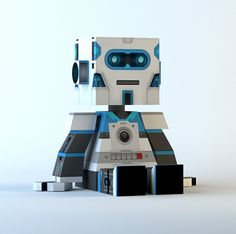 "Check out my @Behance project: ""Custom vinyl robot toy design"" https://www.behance.net/gallery/59428131/Custom-vinyl-robot-toy-design"