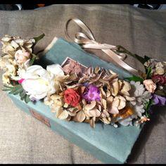 Floral hair wreath/headband