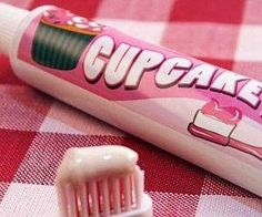 Does this cupcake flavored toothpaste make you want to brush your teeth more often? Do you think it would make children want to brush more often?  Dentaltown - 20 Unusual Toothpaste Flavors. What is your favorite flavor?