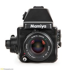 Mamiya 645E ~ cheap and awesome. I've taken some beautiful portraits with this camera.