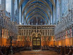 Le grand chœur de style gothique flamboyant 1545 - 1585. - Cathédrale Sainte Cécile d'Albi (Tarn)