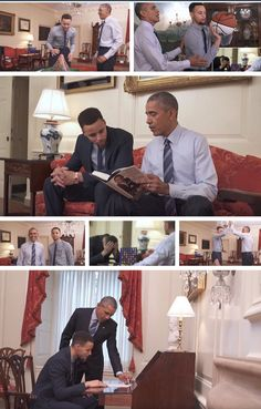 """'The Mentorship' was motivated by #44thPresident #BarackObama """"My Brother's Keeper Initiative"""" It works to fight the opportunity gaps faced by young boys of color President Barack Obama read Basketball Player Golden State Warriors Steph Curry passages from his book Barack Obama: The Audacity of Hope April 2016"""