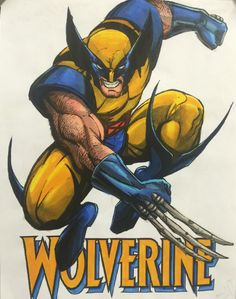 Wolverine by Marker Study and Sean Manning Wolverine Movie, Wolverine Art, Logan Wolverine, Logan Xmen, Avengers Tattoo, Marvel Tattoos, Xmen Comics, Comic Tattoo, Batman The Animated Series