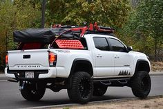 Best classic cars and more! Toyota Tacoma 4x4, Lifted Tacoma, Tacoma Truck, Toyota Hilux, Toyota Tundra, Lifted Ford, Overland Tacoma, Overland Truck, Toyota Tacoma Accessories