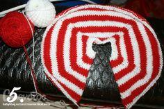 Пошаговый образец вязания безшовной кофточки...) - Babyblog.ru - вязание крючком…
