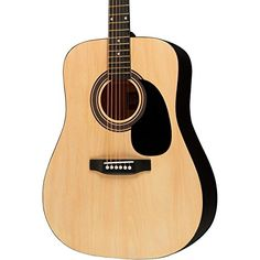 Rogue RA-090 Dreadnought Acoustic Guitar Natural Rogue