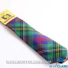 Clan Wood Tartan Tie