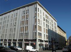 L'edificio che ospita i nostri 2000 mq fra uffici, sale riunioni, coworking, in Via Boezio 6 a Roma nel quartiere Prati, fra San Pietro e Piazza del Popolo.