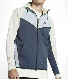 a7a640349729 Nike Tech Fleece Windrunner Hoodie Jacket Mens XL-TT Glacier Grey  Nike   Hoodie