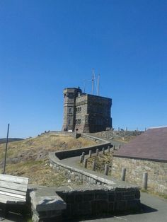 Signal Hill...overlooking the Atlantic Ocean and St. John's NL harbour