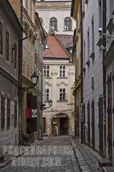 Bratislava. Very cool place, full of history.