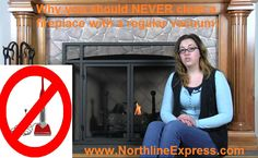 Why you should not be using a household vacuum to clean up fireplace ashes http://northlineexpressblog.com/?p=1339