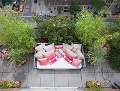 NYC garden terrace