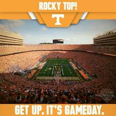 It's game day! Go Vols!