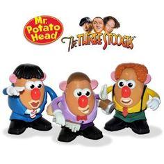 The Three Stooges Potato Heads