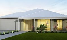 Dale Alcock Home Designs: Borough. Visit www.localbuilders.com.au/home_builders_perth.htm to find your ideal home design in Perth